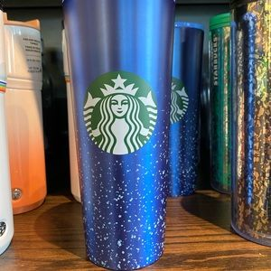 COPY - Starbucks blue and white dots gradient